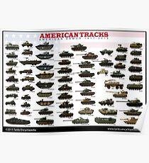 Amerikanische Spuren 1917-2017 Poster