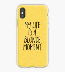 Dumb Blonde iPhone cases & covers for XS/XS Max, XR, X, 8/8 ...