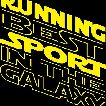 Running best sport in the Galaxy by mohsenmohamed