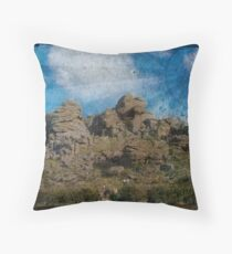 Hound of the Baskervilles Throw Pillow