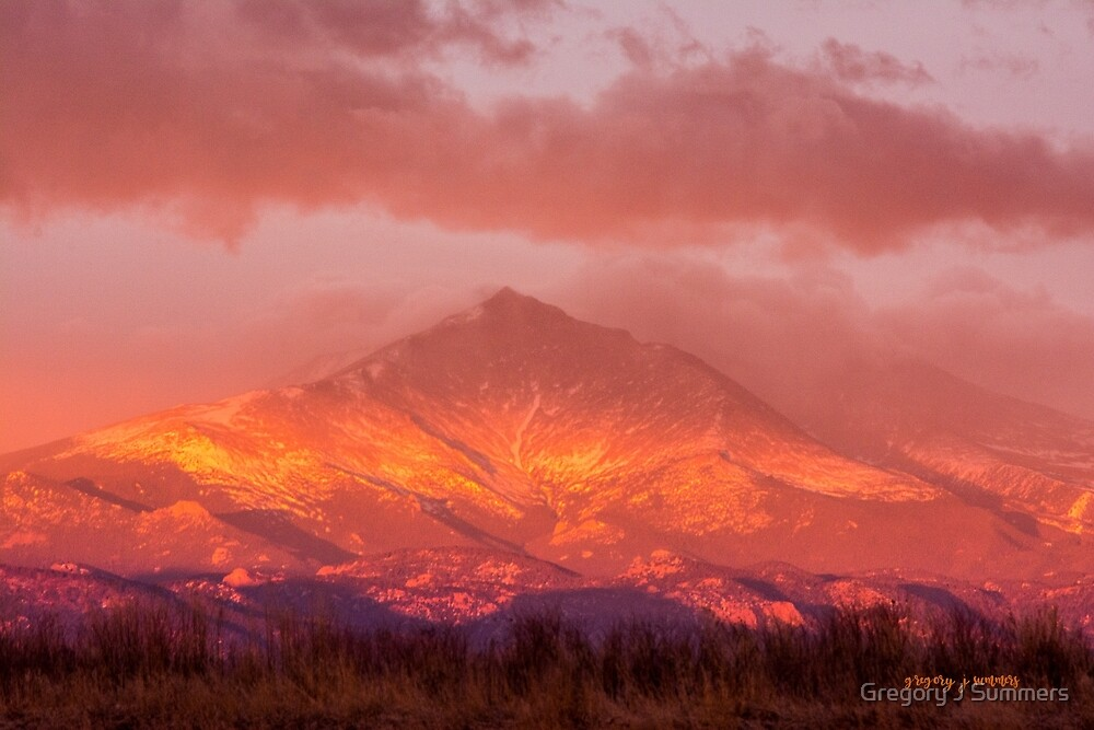 Fire Sunrise by Gregory J Summers