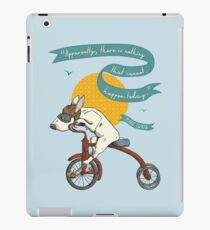 Bull Terrier Dog Tricycle Riding iPad Case/Skin