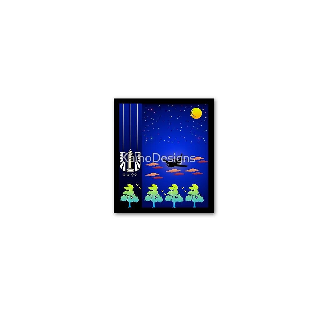Minimalist Mash UP | Indiana Stargate by KamoDesigns