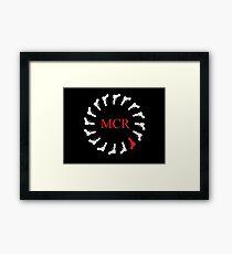 My Chemical Romance Gun Logo Framed Print