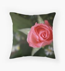 Rose at Phnom Pehn Markets, Cambodia Throw Pillow
