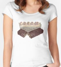 C.R.E.A.M - Candy Rules Everything Around Me Women's Fitted Scoop T-Shirt