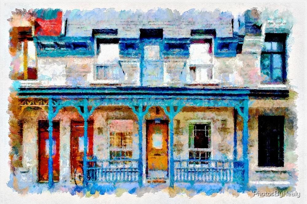 Facade III - watercolour by PhotosByHealy