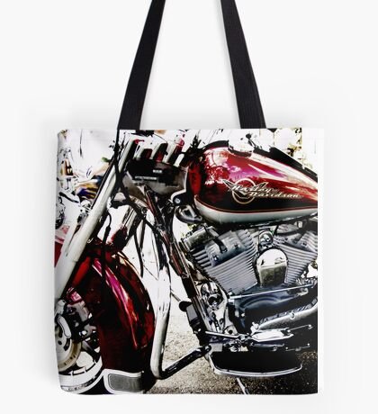red harley Tote Bag