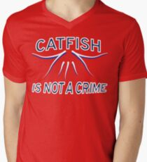 80f7a77d4 Nashville Predators Rally Catfish V-Neck T-Shirt