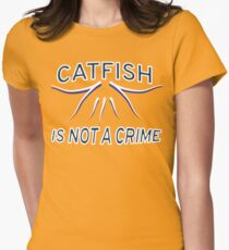 Nashville Predators Rally Catfish Women's Fitted T-Shirt