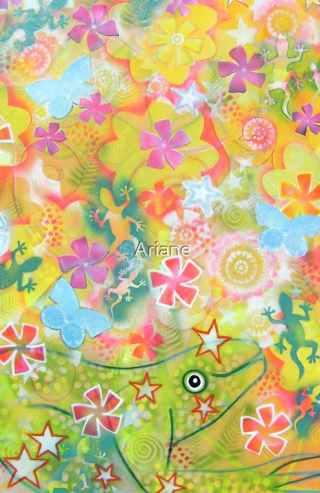 """ FROG MAGIC "" by Ariane"