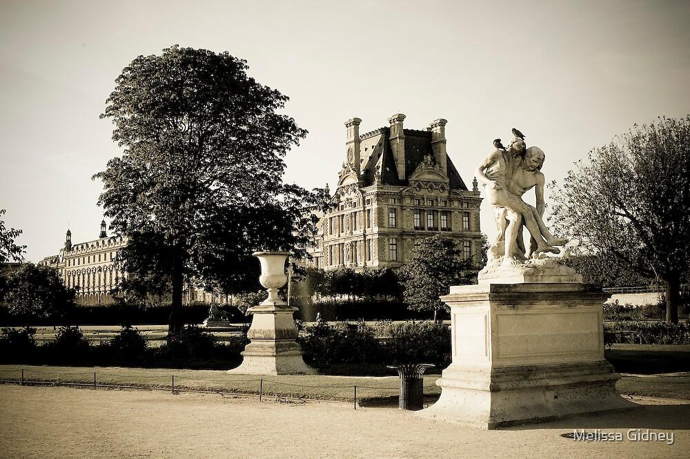 Louvre III by Melissa Gidney