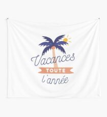 Vacances toute l'année Wall Tapestry