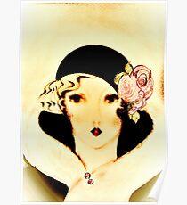 1926 Flapper,,,,, House of Harlequin Poster