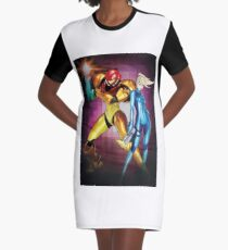 Metriod two worlds Graphic T-Shirt Dress