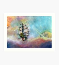 Mike's Tall Ship Art Print