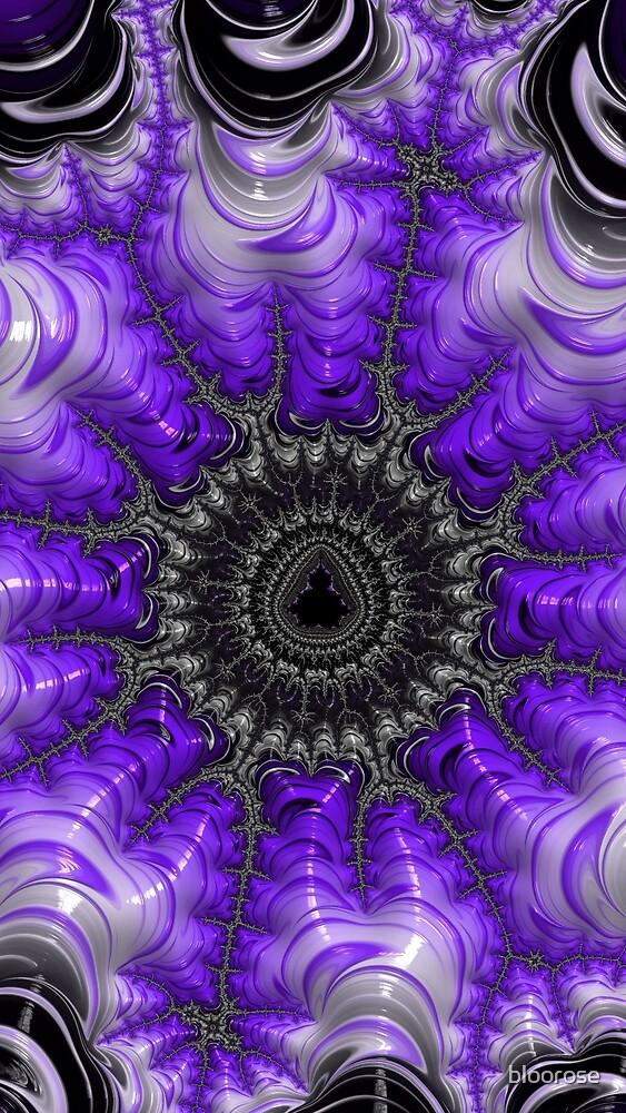 Violet Mandelbrot by bloorose