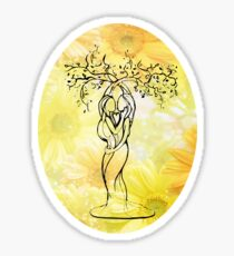 Tree of Love Sticker