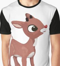 Classic Rudolph Graphic T-Shirt