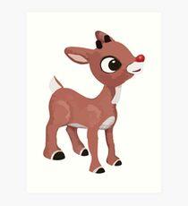 Classic Rudolph Art Print