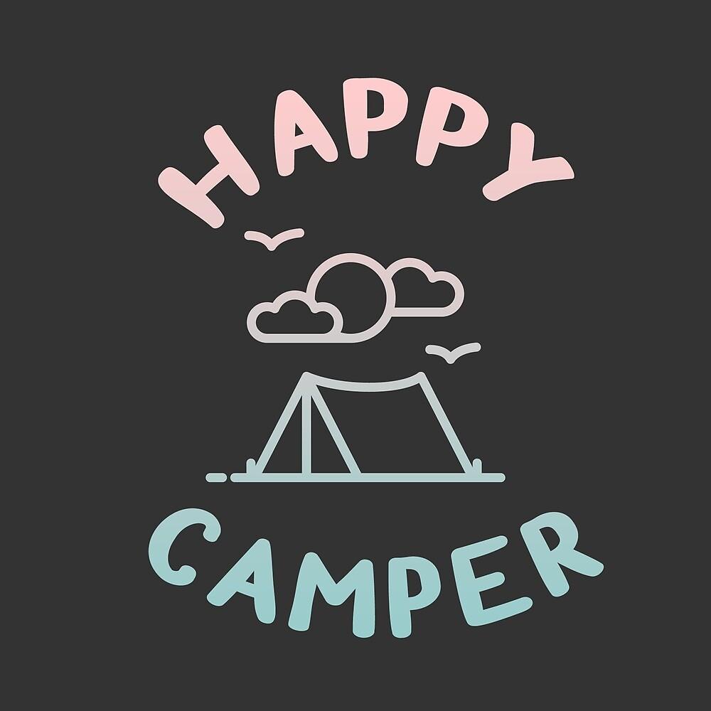 HAPPY CAMPER by starkle