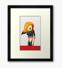 Kill Bill Dark Betty  Framed Print