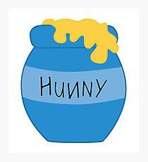 Hunny Pot - Pooh Photographic Print
