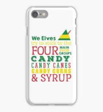 Candy, Candy Canes, Candy Corn, & Syrup iPhone Case/Skin