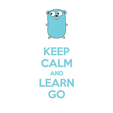 Keep calm and Learn Go - Light edition by zoerab