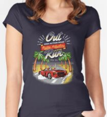 Racing Adventure  Women's Fitted Scoop T-Shirt