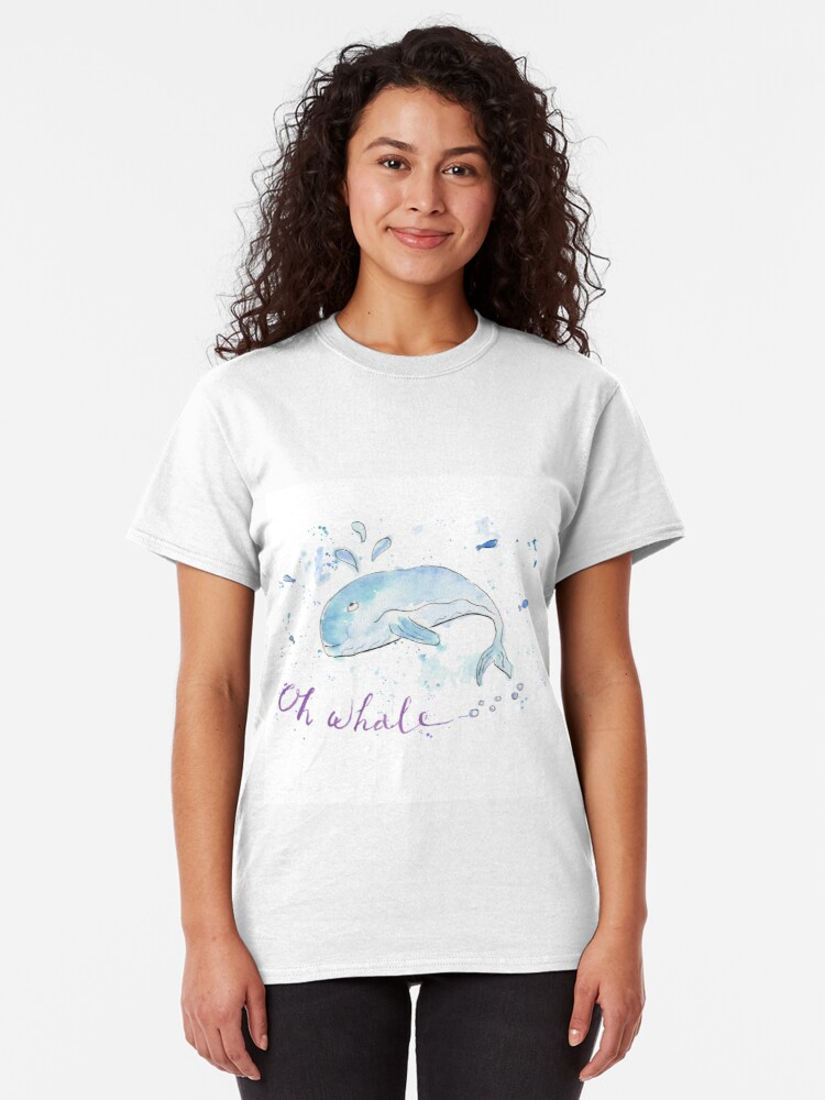 Alternate view of Oh whale... Classic T-Shirt