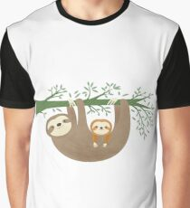 Sloths Graphic T-Shirt