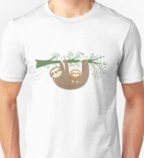 Sloths Slim Fit T-Shirt