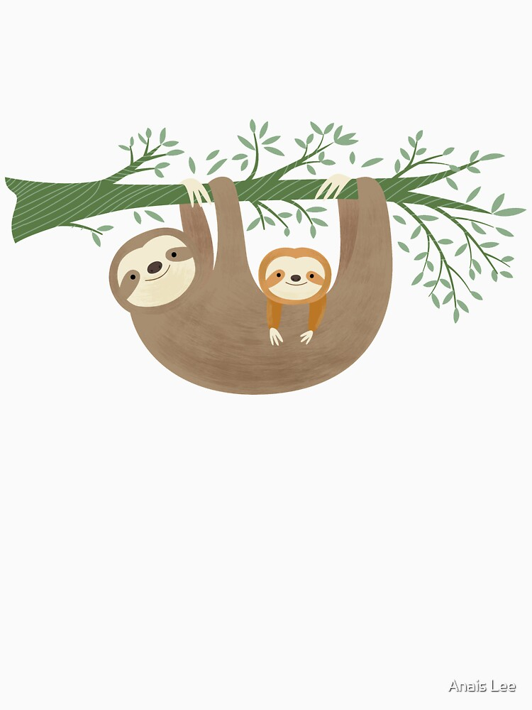 Sloths by anaislee