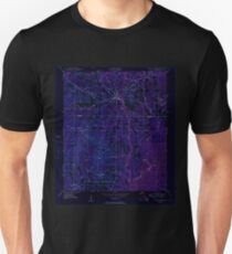 USGS TOPO Map Florida FL Ponce De Leon 348162 1950 24000 Inverted T-Shirt