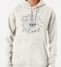 Doodle Doods - Chris Collage Pullover Hoodie