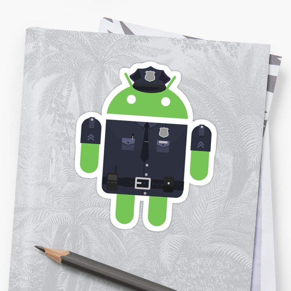 Policía Android by aquinta