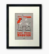 FPS, First Person Shooter Framed Print