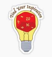 Find Your Inspiration Sticker