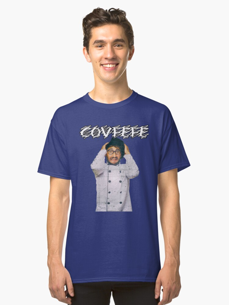 Covfefe Late Night Typo Tweet Meme Classic T-Shirt Front