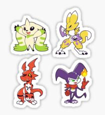 Tamers Group Sticker