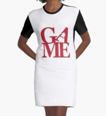 Game Love Graphic T-Shirt Dress