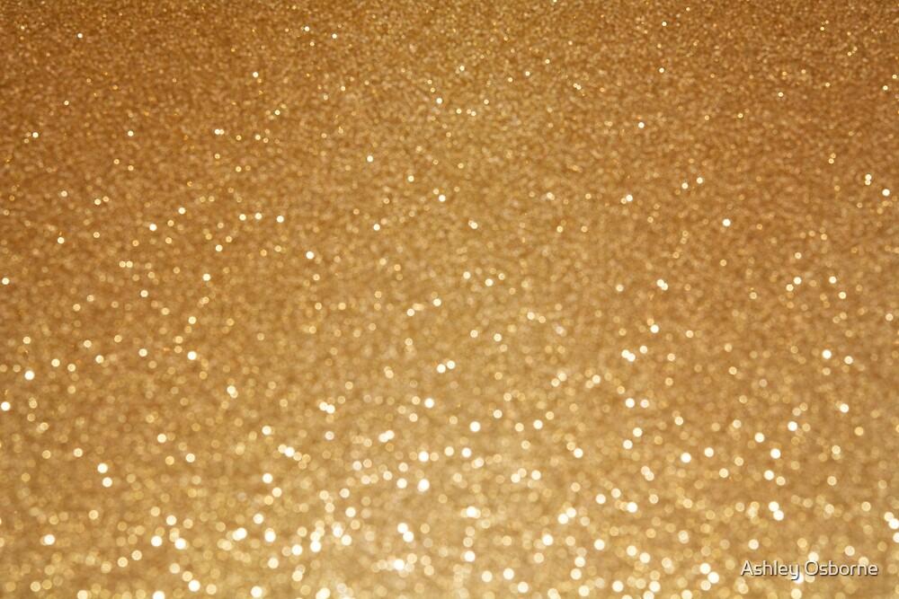 gold gllitter by Ashley Osborne