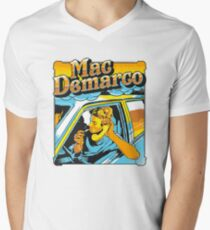 mac demarco in his car Men's V-Neck T-Shirt