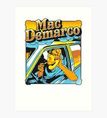 mac demarco in his car Art Print