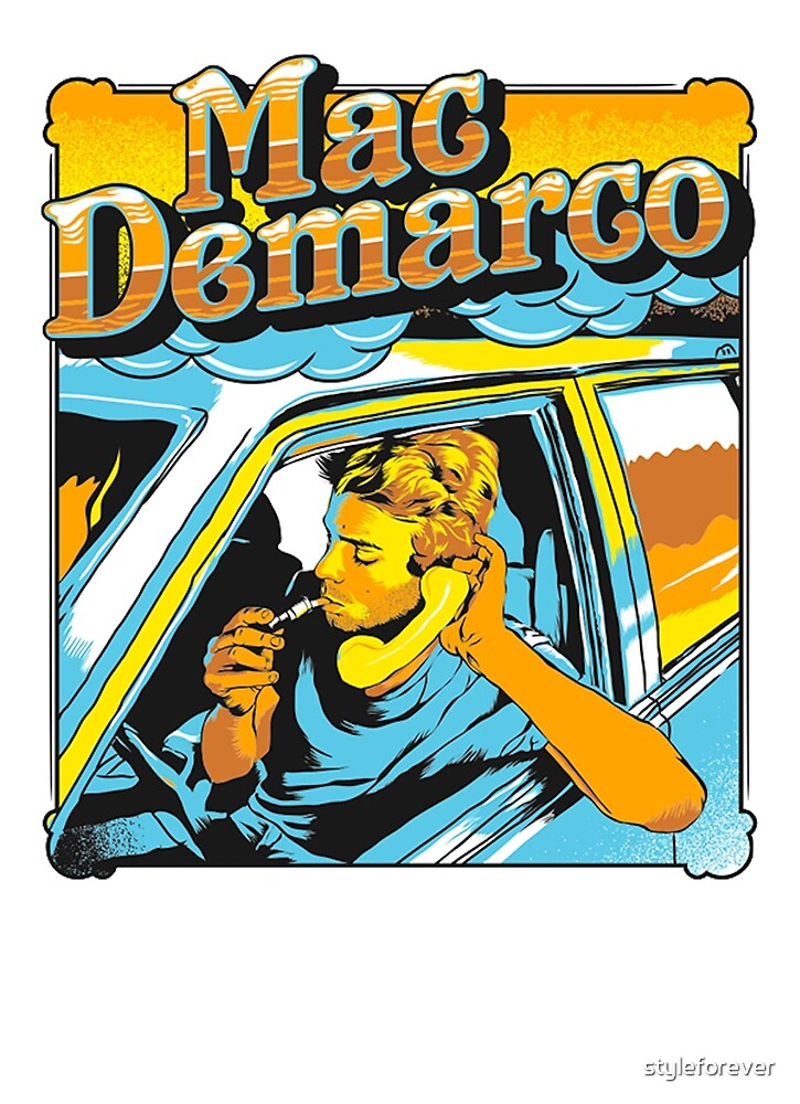 mac demarco in his car by styleforever