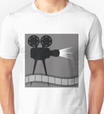 old movie projector T-Shirt