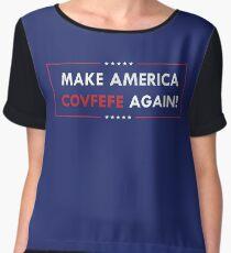 Make America Covfefe Again Women's Chiffon Top