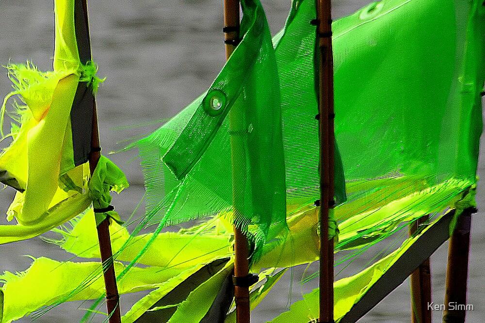 Fishing flags by Kenart