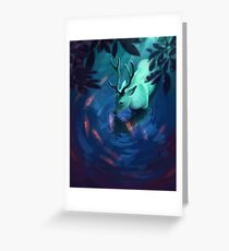 Mystic Deer Greeting Card